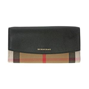 Burberry Porter Black Continental Wallet